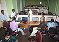 Activities at Main Media Center in full swing on the eve of the inauguration of the 42nd IFFI-2011, in Panaji, Goa on November 22, 2011.jpg