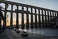 Acueducto de Segovia, al amanecer (2).jpg