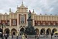 Adam Mickiewicz monument, Main Market square, Old Town, Krakow, Poland.jpg