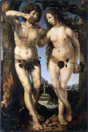 Adão e Eva. Mabuse, Século XVI