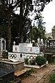 Addis abeba, chiesa della trinità, esterno, tomba dell'atleta olimpionico miruts yifter 'the shifter'.jpg