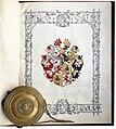 Adelsdiplom - Feyl von Pfeil 1859 - Wappen.jpg