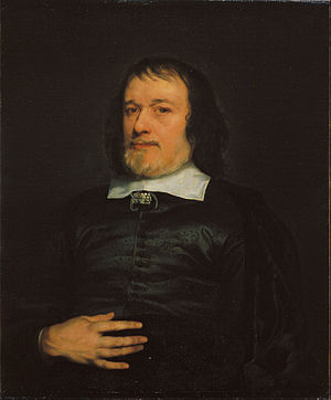Adriaen Hanneman - Portrait of a Gentleman (circa 1655), from Museu Nacional d'Art de Catalunya