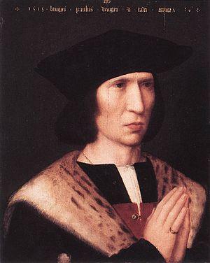 1518 in art - Image: Adriaen Isenbrant Portrait of Paulus de Nigro WGA11873