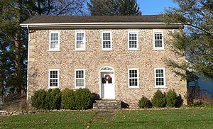 Adsit Cobblestone Farmhouse - Image: Adsit Cobblestone Farmhouse 1