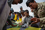 Afghan police conduct kite-making activity with Afghan children 110717-A-DM450-014.jpg