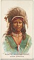 Agate Arrow Point, Warm Springs, from the American Indian Chiefs series (N2) for Allen & Ginter Cigarettes Brands MET DP828041.jpg