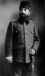Djemal Pasha Ottoman general (1872-1922)