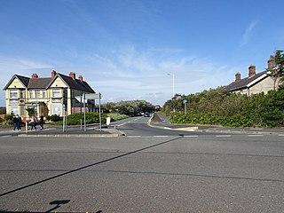 Ainsdale Beach railway station Former railway station in Merseyside, England