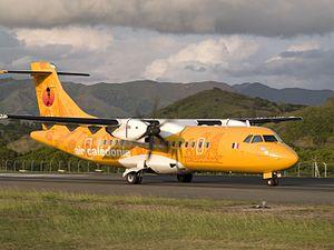 Air Calédonie - An Air Calédonie ATR 42-500 at Nouméa Magenta Airport in New Caledonia, in 2007.
