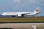 Air Canada, C-FIVX, Boeing 777-333 ER (25771347577).jpg