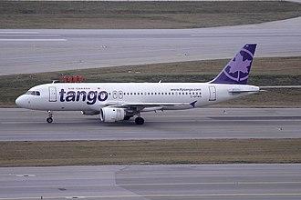 Air Canada Tango - An Air Canada Tango Airbus A320-200