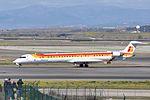 Air Nostrum, Canadair CL-600-2E25 Regional Jet CRJ-1000, EC-LOJ - MAD (22497009656).jpg