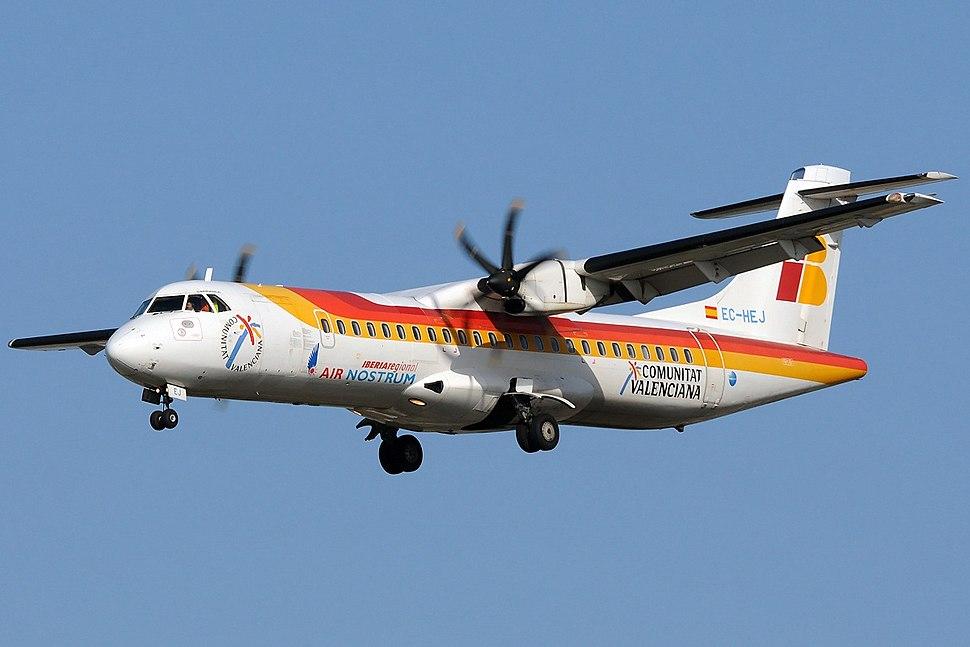 Air Nostrum (Iberia Regional) ATR ATR-72-500 (ATR-72-212A)