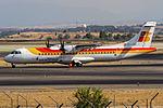 Air Nostrum ATR 72-600 (EC-LRH) at Madrid Barajas Airport (MAD).jpg