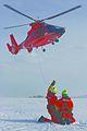 Air Station Detroit hoist training on frozen Lake St. Clair (5550349254).jpg