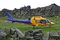 Air ambulance landing at Windgather Rocks - geograph.org.uk - 1016992.jpg
