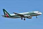 Airbus A320-200 Alitalia (AZA) EI-DTE - MSN 3885 - Named Francesco Petrarca (9512062044).jpg