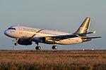 Airbus A320-200 Nesma AL (NMA) SU-NMA - MSN 1697 - Named Bertha (9226932857).jpg