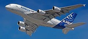 Überflug in Airbus-Werkslackierung