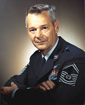 Chief Master Sergeant of the Air Force - Image: Airey pw