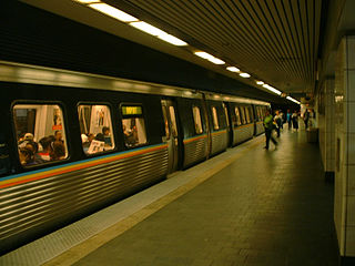 Civic Center station (MARTA) train station in Georgia, USA