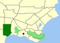 Albany-Mt Elphinstone map.png
