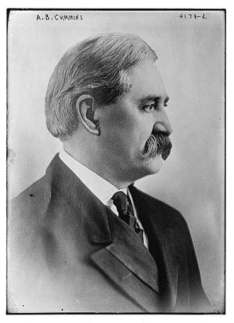 Albert B. Cummins - Image: Albert Baird Cummins circa 1917
