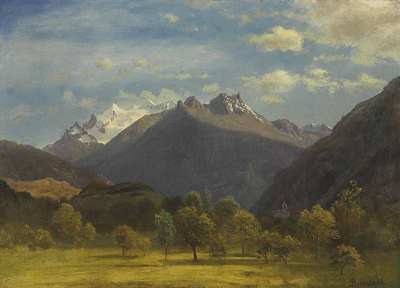 File:Albert Bierstadt - The Alps from Visp.jpg