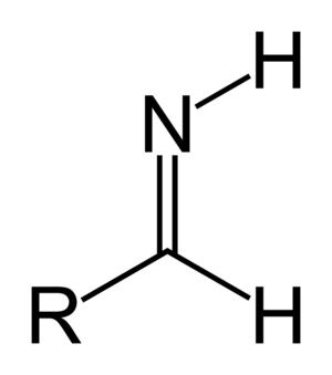 Imine - Image: Aldimine (primary) skeletal