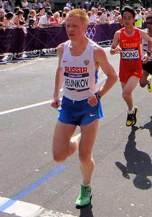Russia at the 2012 Summer Olympics - Alexey Reunkov in men's marathon