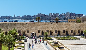 Alexandria - Skyline from Qaitbay Citadel