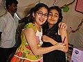 Alia Bhatt and Sara Ali Khan at Amrita Singh's Children Mela.jpg