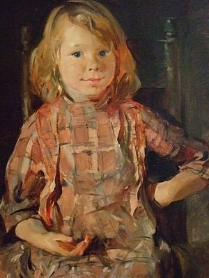 Alice Kent Stoddard - Fisherman's Little Sister, 1915, Dallas Museum of Art