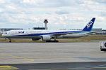 All Nippon Airways, JA736A, Boeing 777-381 ER (20360115751).jpg