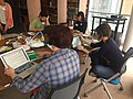 All Rise Wikipedia Editathon at UNC Chapel Hill 04.jpg