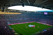 ce20bab6a7 Allianz Arena during a match in November 2014
