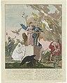 Allegorie op het herstel van Willem V als stadhouder, 1787, RP-P-OB-85.933.jpg