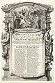 Allegorie op het huwelijk van graaf Willem Frederik van Nassau met Albertine Agnes van Nassau, 1652, RP-P-OB-67.558.jpg