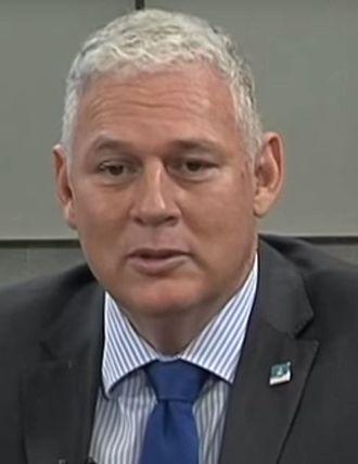 Saint Lucia - Prime Minister Allen Chastanet