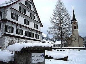 Wildhaus-Alt St. Johann - Image: Alt Sankt Johann 01