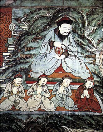 Altan Khan - Altan Khan as icon of Buddhism.