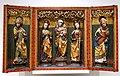 Altar of Saint Anne, artist unknown, Germany, 1516, polychromed and gilded wood - Busch-Reisinger Museum, Harvard University - DSC01071.jpg