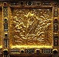 Altare di s. ambrogio, 824-859 ca., fronte dei maestri delle storie di cristo, 13 ascensione.jpg