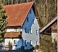 Altdorf (Niederbayern)-Eugenbach Bucher Straße 32 - Bauernhaus-Stadel 2014.jpg