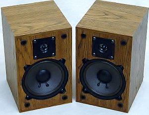 Altec Lansing - Altec Lansing Bookshelf loudspeakers