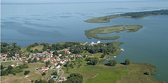 Szczecin Lagoon - The German fishing village of Altwarp on the Lagoon