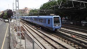 Euskotren Trena - Image: Amara Donostia Eusko Tren