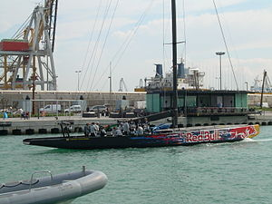 Victory Challenge - America´s Cup Valencia, Spain. 2006–07. Victory Challenge.