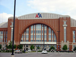 American Airlines Center, home of the Dallas S...